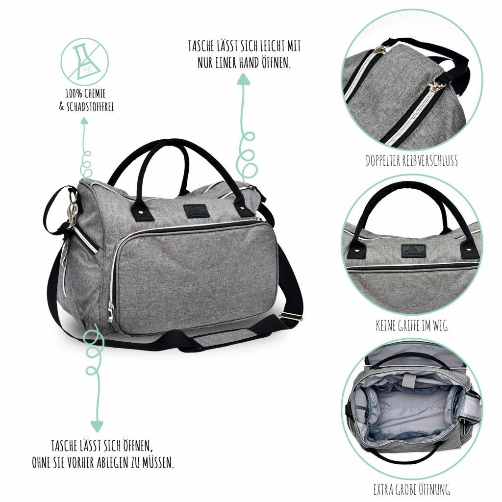 3468 Product - Emadele Premium Wickeltasche