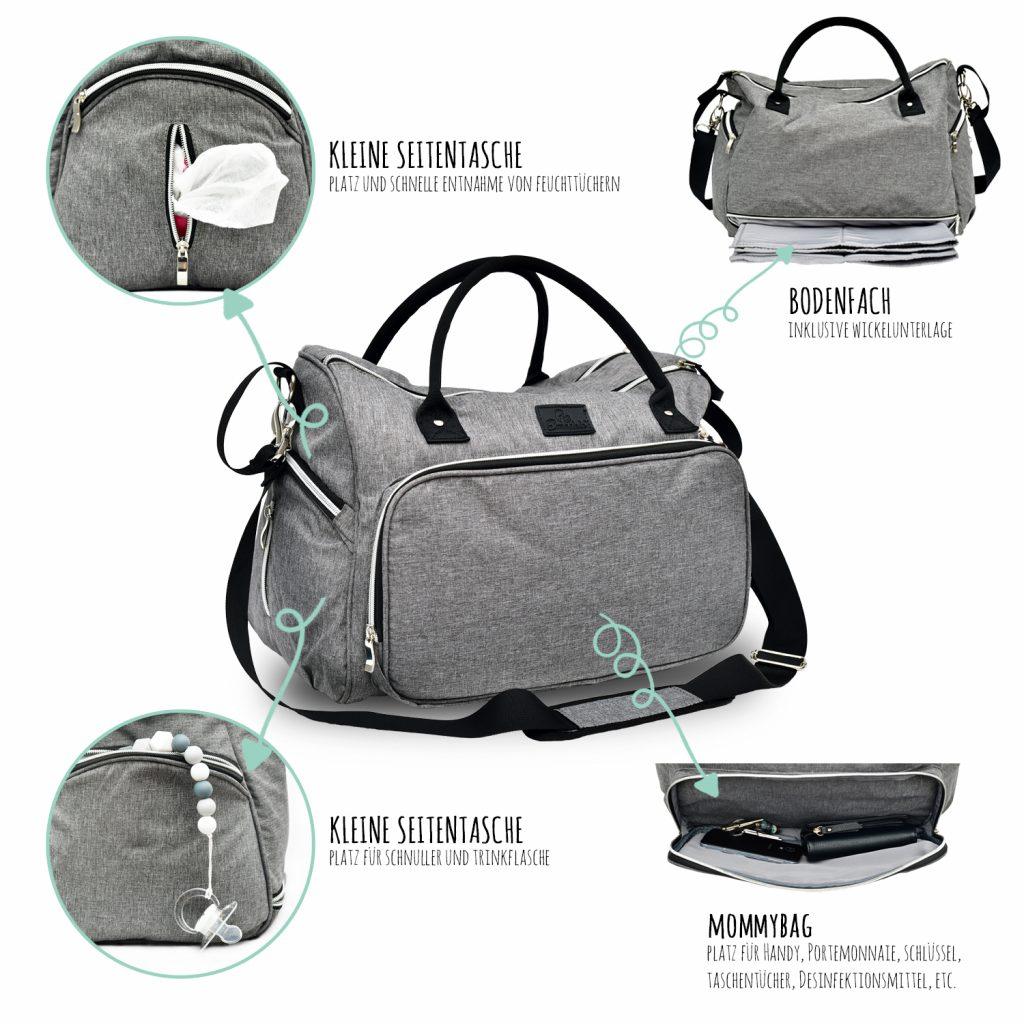 3471 Product - Emadele Premium Wickeltasche
